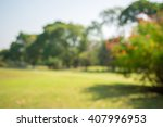 abstract blur city park bokeh... | Shutterstock . vector #407996953
