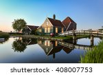 Zaanse Schans  Holland  ...