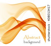 abstract background with orange ...   Shutterstock .eps vector #408013417