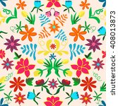 seamless floral background... | Shutterstock .eps vector #408013873