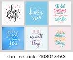 lettering vector postcard... | Shutterstock .eps vector #408018463