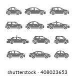 car icons | Shutterstock .eps vector #408023653