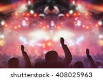 blur concert  background | Shutterstock . vector #408025963