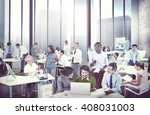 business people meeting working ... | Shutterstock . vector #408031003