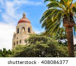 hoover tower  stanford... | Shutterstock . vector #408086377