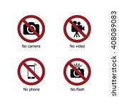 set of prohibit electronic...