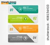 infographics vector design... | Shutterstock .eps vector #408156433
