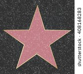walk of fame star  | Shutterstock . vector #408168283