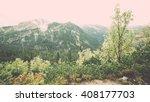 tatra mountain forest  in... | Shutterstock . vector #408177703