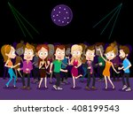 vector illustration of big... | Shutterstock .eps vector #408199543