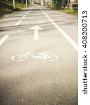 bicycle road sign   Shutterstock . vector #408200713