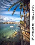 View Of Korcula Old Town On...
