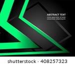 stylish presentation of... | Shutterstock .eps vector #408257323