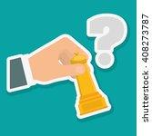 solutions vector illustration | Shutterstock .eps vector #408273787