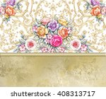 Template For Greeting Card Wit...