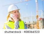 view of an attractive woman... | Shutterstock . vector #408366523