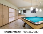 entertainment room in luxury... | Shutterstock . vector #408367987