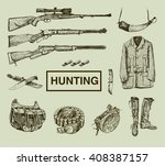 hunting and outdoor equipment.