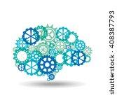 brain storm design    Shutterstock .eps vector #408387793