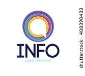 communication logo. speak logo. ... | Shutterstock .eps vector #408390433