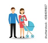 family members design  | Shutterstock .eps vector #408409807