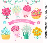 happy mother's day conceptual... | Shutterstock .eps vector #408437707