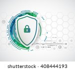 protection background.... | Shutterstock .eps vector #408444193