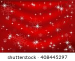 red christmas background  vector | Shutterstock .eps vector #408445297