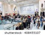 new york   march 19  2016 ... | Shutterstock . vector #408455107