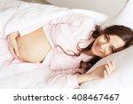 Lovely Pregnant Woman Having...