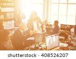 cooperation corporate... | Shutterstock . vector #408526207