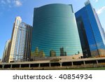Curved Glass Modern Building I...
