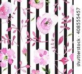 watercolor seamless pattern ...   Shutterstock . vector #408555457