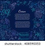 vector hand drawn  illustration ... | Shutterstock .eps vector #408590353