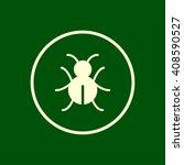 bug icon. vector eps10 icon