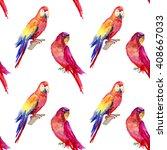 watercolor seamless pattern... | Shutterstock . vector #408667033