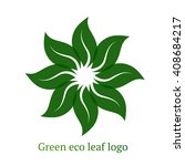 design ecology icon logo vector | Shutterstock .eps vector #408684217
