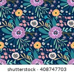 beautiful pattern in abstract... | Shutterstock .eps vector #408747703