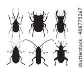 vector illustration of bugs.... | Shutterstock .eps vector #408775267