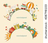 vector illustration of dreams...   Shutterstock .eps vector #408798103