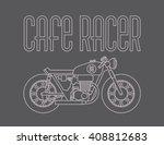 heavy outline vector... | Shutterstock .eps vector #408812683