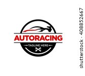 automotive logo template  | Shutterstock .eps vector #408852667