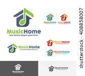Music House Logo Template