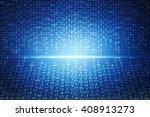 2d business graph background | Shutterstock . vector #408913273