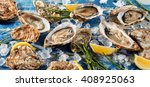 Buffet Of Fresh Shucked Oyster...