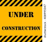 under construction background | Shutterstock .eps vector #408995347