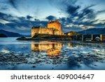 Eilean Donan Castle During Blu...