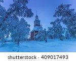 Church Of Jukkasjarvi  Sweden