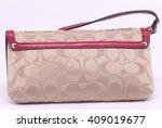 luxury expensive bag hand bag... | Shutterstock . vector #409019677
