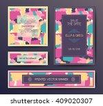 modern grunge brush design... | Shutterstock .eps vector #409020307